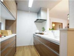 ●高機能&高収納力キッチン
