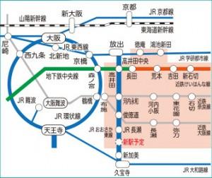 東大阪鉄道マップ